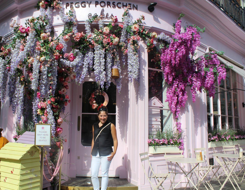 Fotodagboek tripje Londen en cupcakecafé Peggy Porschen Cakes!