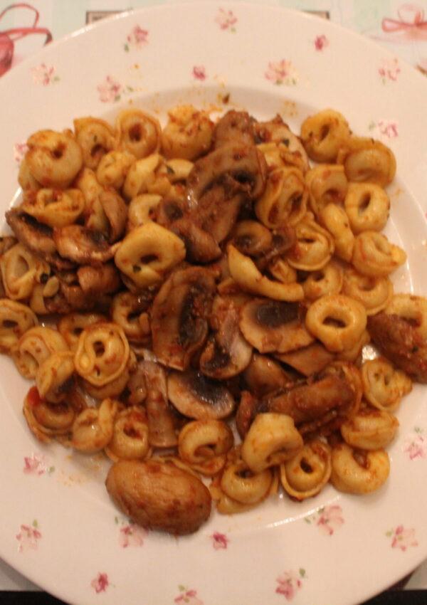 Recept: hartige pasta (vegetarisch)!