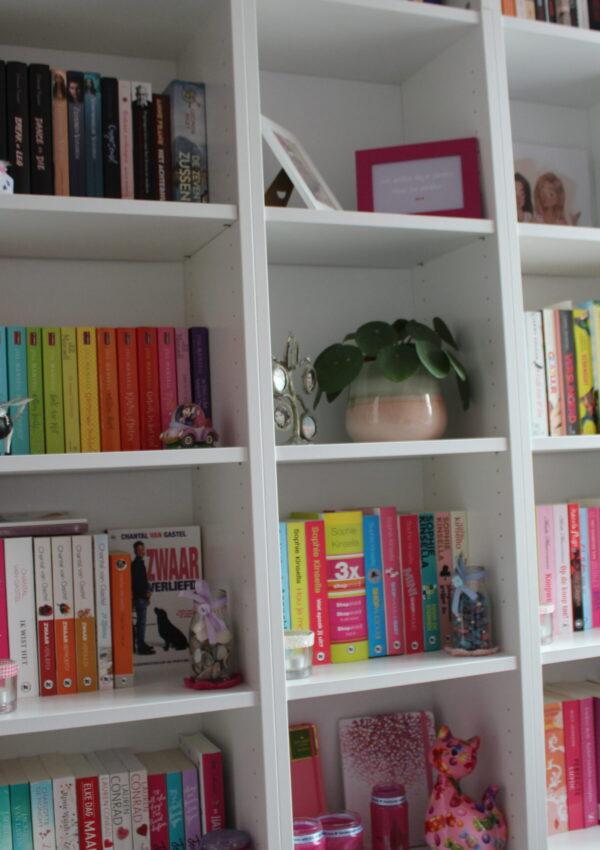 Boekenkast interieur inspiratie: kijk mee in mijn boekenkast!